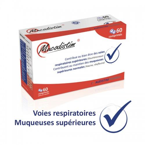 Mucodistim - 60 comprimés - Hemmage, reflux, mucosités