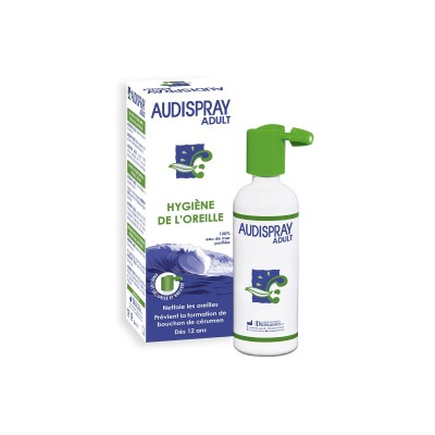 Audispray - Hygiène de l'oreille